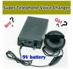 Changeur de voix sur telephone fixe et portable